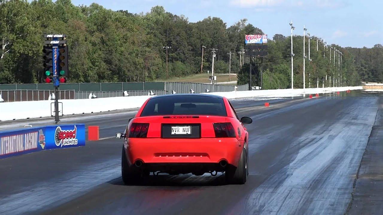 04 Mustang Gt >> 11.3 at 122 5.0 Coyote swap 2004 Mustang gt - YouTube