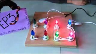 Como hacer un circuito en serie paso a paso