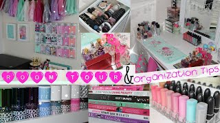 Room Tour and Organization Tips!