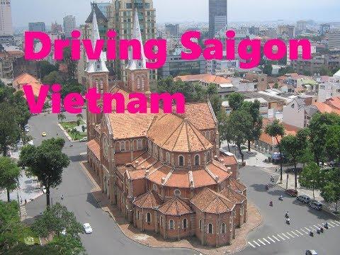 Driving Saigon Vietnam (Ho Chi Minh)