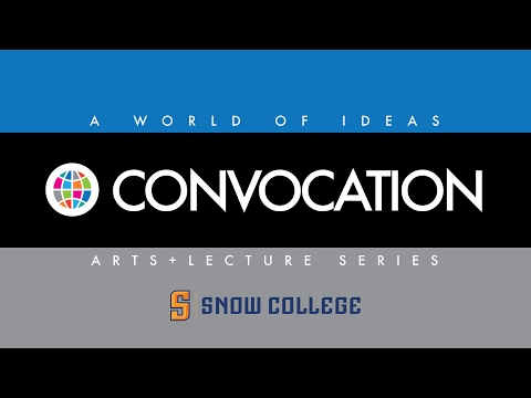 Snow College Convocations: Judy Gelles 2-9-2017