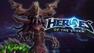 Heroes of the Storm (HotS)   ZAGARA PUSH   Zagara Gameplay ft. Jesse Cox and Sinvicta