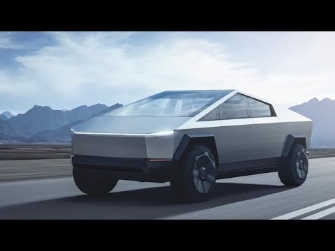Tesla unveils its new Cybertruck at the LA Auto Show - YouTube