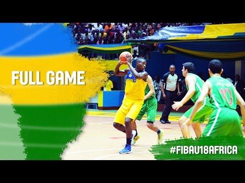 Rwanda v Algeria - Full Game - 2016 FIBA Africa U18 Championship