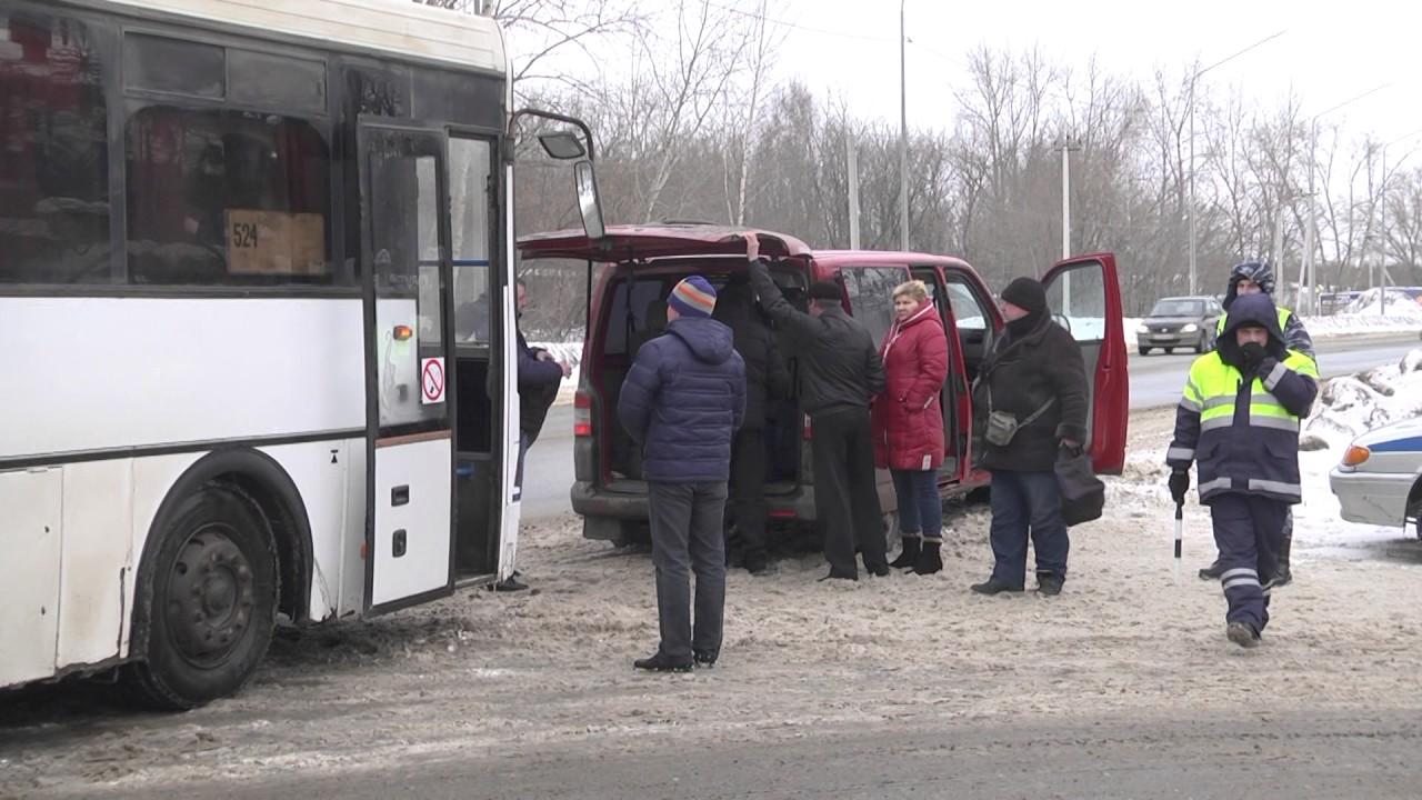 В Рязани пресекли деятельность нелегального пассажиро перевозчика