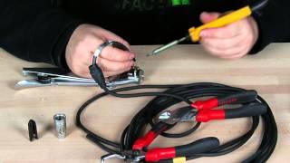 fabriquer un cable XLRf Jack mono