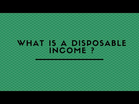WHAT IS A DISPOSABLE INCOME ?
