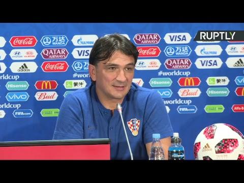 Пресс-конференция сборной Хорватии после выхода в финал ЧМ-2018