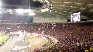 vfb stuttgart fc barcelona 23 02 2010 champions league anthem intro live