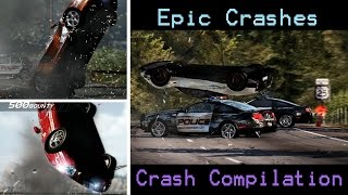 Need For Speed Hot Pursuit 2010 - Most Awesome/Epic Crashes - Crash Compilation