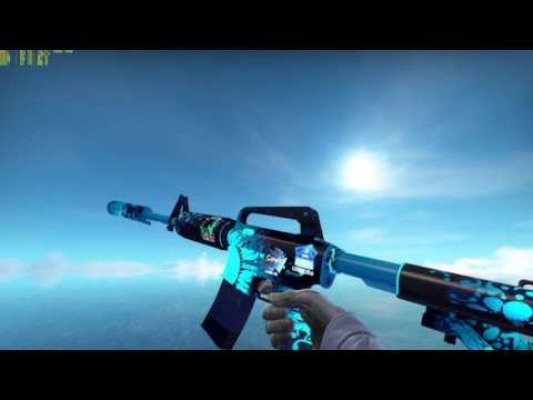 CS:GO Weapon Showcase: M4A1-S Icarus Fell (Factory New)