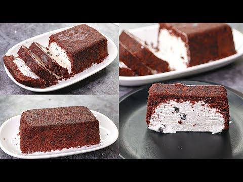 Ice Cream Cake Bar Recipe | No Bake Ice Cream Cake Recipe | Yummy