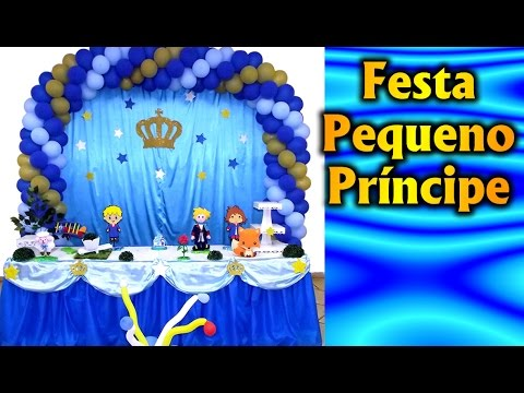 Party Decoration Theme - The Little Prince - Children's Birthday - Fiesta / Party Kids / Ideas