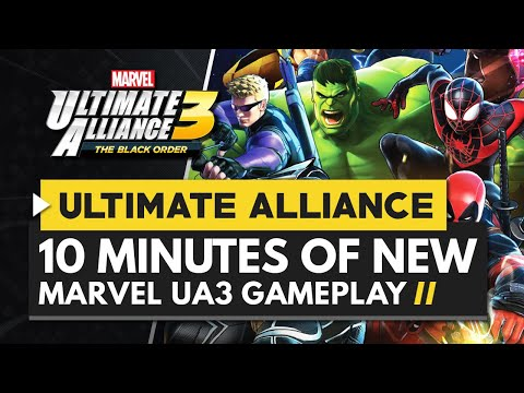 Marvel Ultimate Alliance 3 The Black Order | 10 Minutes of New Gameplay