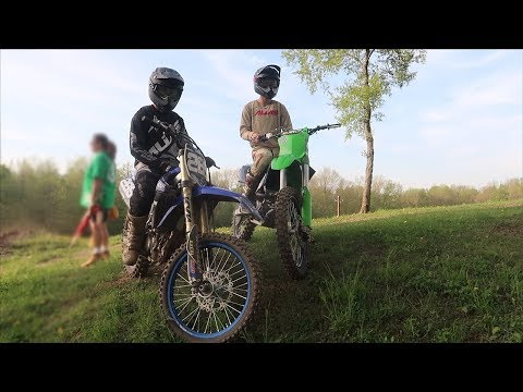 BACK ON THE 250F!!! The KX125 Hype Is Gone