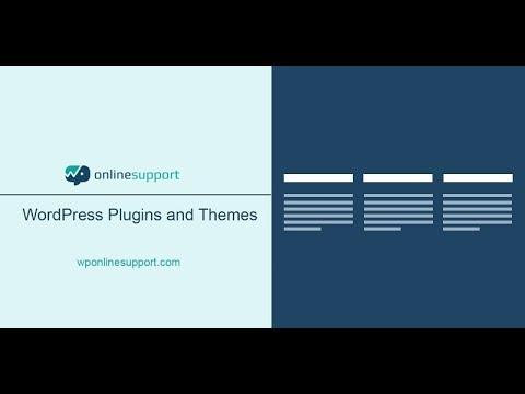 WordPress plugins Footer Mega Grid Columns Plugin - YouTube