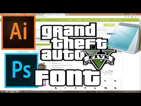 How To Download The GTA Font   How To Get the GTA Font Download & Installation 2015 GTA V
