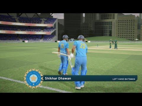 India vs South Africa - 6th ODI Match - Don Bradman Cricket 17