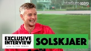 Solskjaer on coaching Rashford, Fergie's notes and playing with 2 strikers