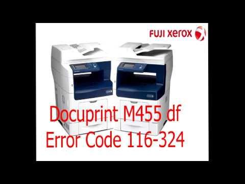Fujixerox DocuPrint M455 df Error016-324 (มี Link สำหรับ Download  ในคำอธิบาย)