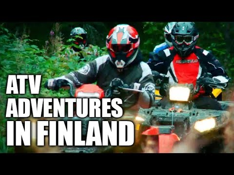 ATV Adventures In Finland