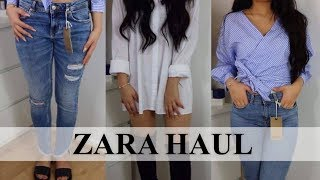 ZARA TRY ON  HAUL - AYSE AND ZELIHA