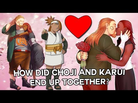 How Did Choji Akimichi And Karui Fall In Love The Birth Of Chocho