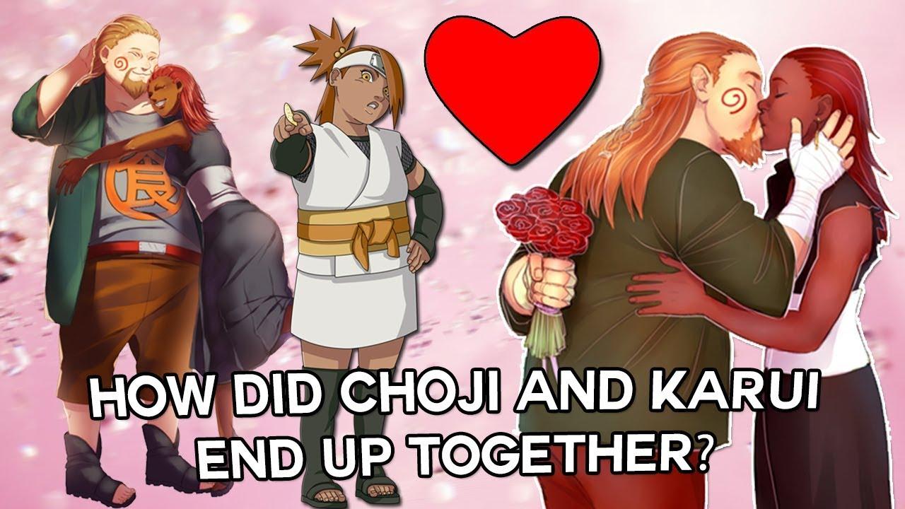 Choji end of naruto dating