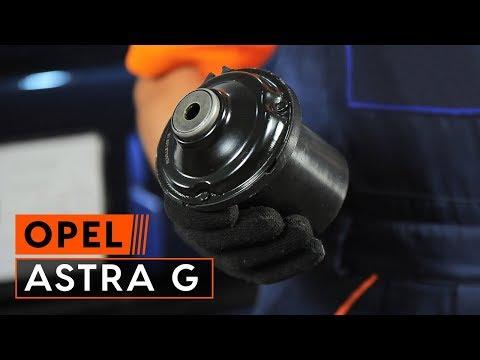 Как да сменим опора на предния амортисьор на OPEL ASTRA G [ИНСТРУКЦИЯ]