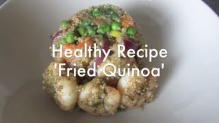 Quinoa Recipe... Inspired By Fried Rice (healthy Recipe)