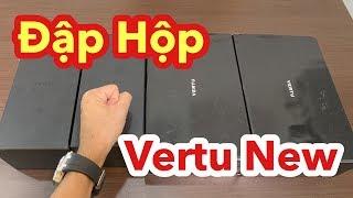 Đập Hộp 1 Cặp Vertu Hàng New 100% Full Box Zin Lifetime 00:00 ( Open New Vertu Phone Box 100% )