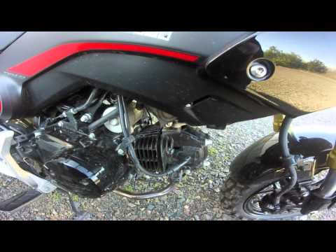 Sputtering Grom Gets A New Spark Plug by Ryan Winters