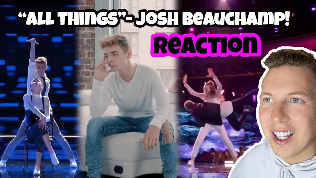 Dancer Reaction: All Things Josh Beauchamp! 😍