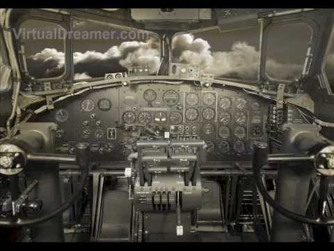 B-17 Bomber Sound for Sleeping : 2 Hour Long Prop Airplane Audio