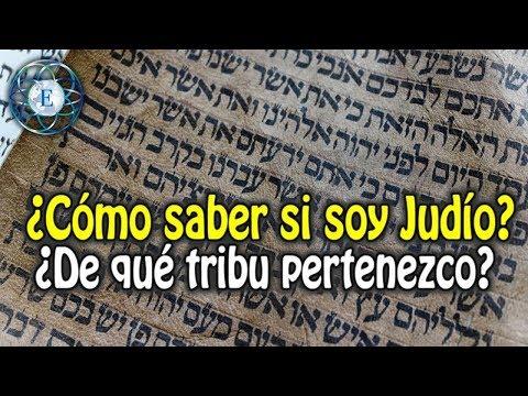 ¿Cómo saber si soy Judío?  ¿De qué tribu pertenezco?