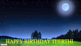 Teerthi  Moon La Luna - Happy Birthday