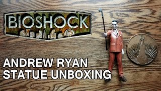 Bioshock Andrew Ryan Limited Edition Statue Unboxing & Review - HD 1080p