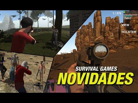 SURVIVAL SCAVENGER/WICKED FOREST 2: ENFIM NOVIDADES GRANDES JOGOS DE SOBREVIVÊNCIA📱🎮