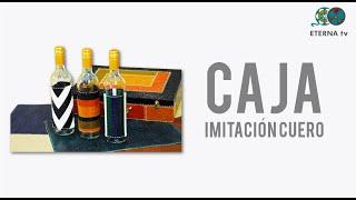 Caja imitación cuero   Lidia Gonzalez Varela en Manos a la Obra