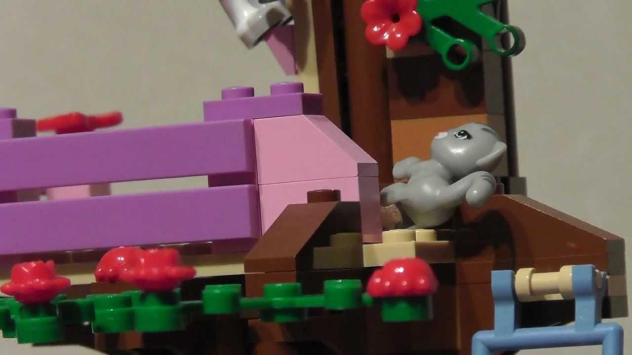 Lego Friends 3065 Dom Na Drzewie Youtube