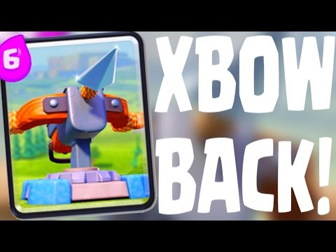 Clash Royale - XBOW is Back AGAIN!