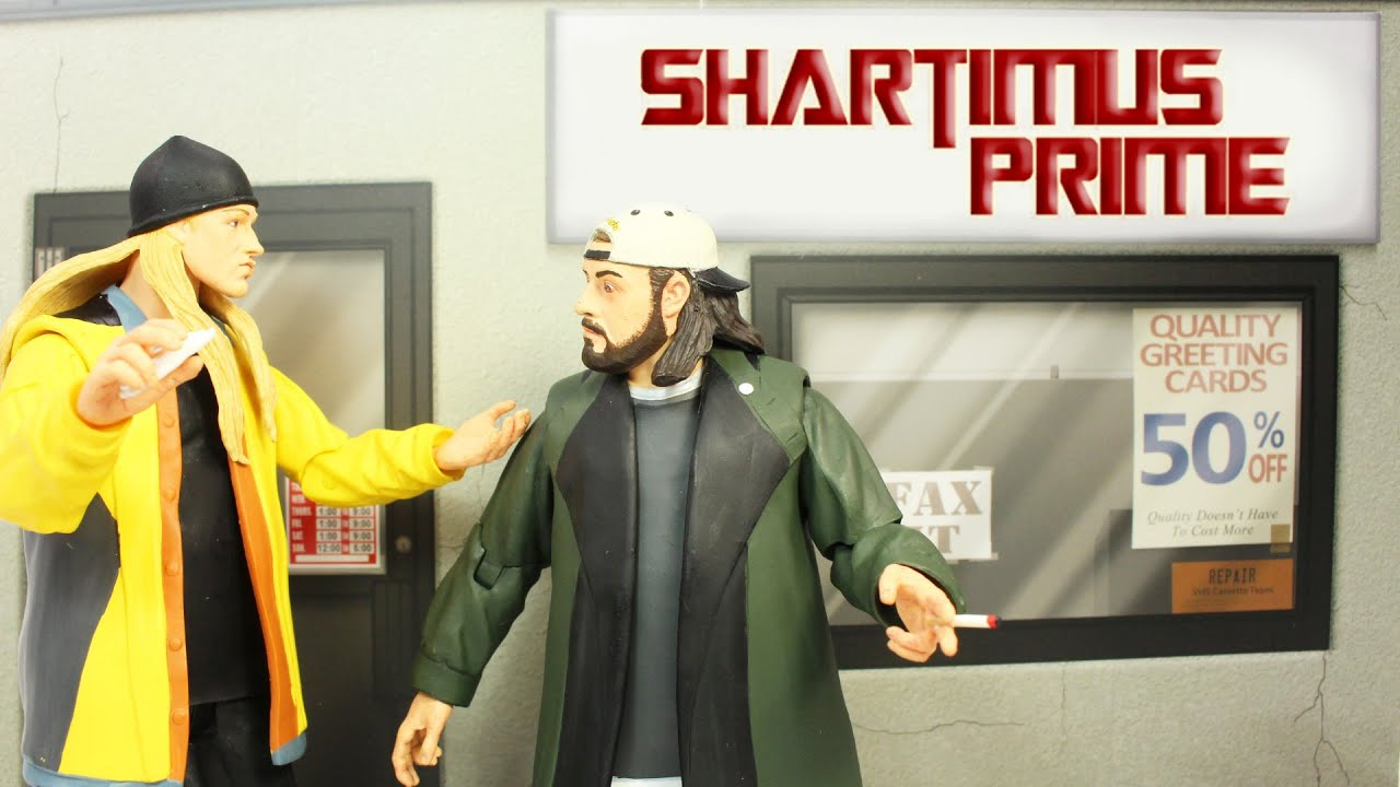Diamond Select Jay /& Silent Bob Strike Back Action Figures