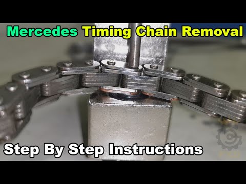 Mercedes Benz Timing Chain Removal & Install Part 1 – How To DIY
