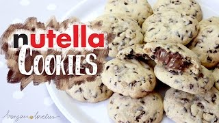 Best NUTELLA Chocolate Chip COOKIES Recipe EVER ∆ | by a French Girl