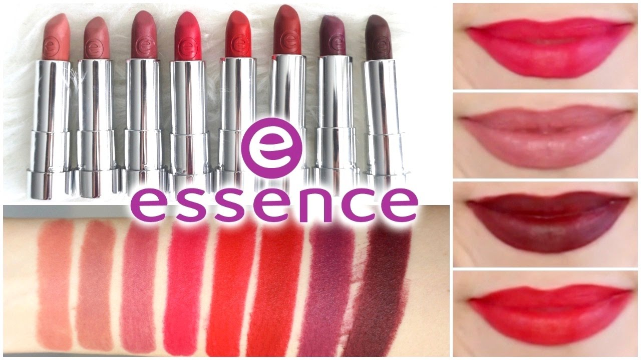 Essence Matt Matt Matt Lipstick Review Lip Swatches Best