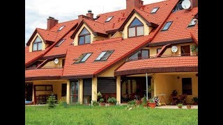 видео Крыши коттеджей - разновидности кровли для загородных домов