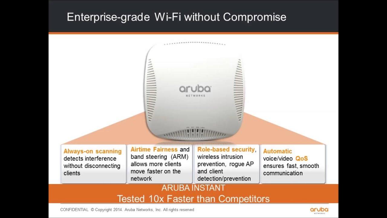 Aruba Networks Wireless Access Points - IAM Networks