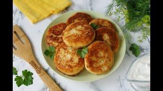 Котлеты из картофеля в мундире Ужин рецепты