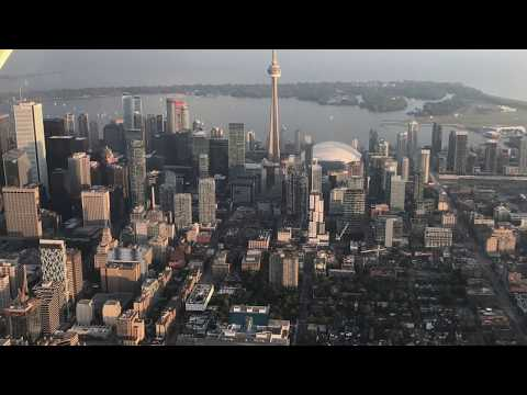 Toronto City Tour - First Passenger and First Licensed Flight