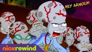 A Halloween Disaster | Hey Arnold! | NickSplat